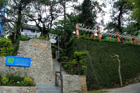 entrance to Baguio La Parilla Cafe and Grill at Inn Rocio