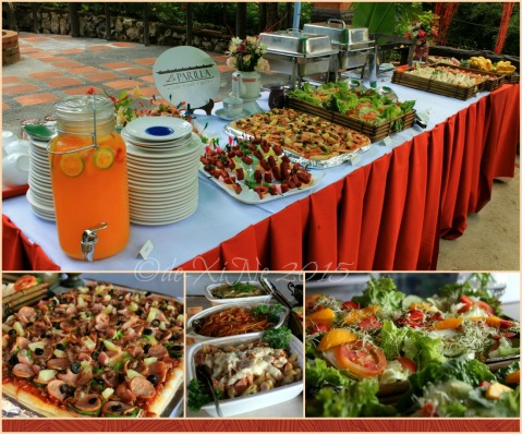Baguio La Parilla Cafe and Grill at Inn Rocio 2015 grand opening spread