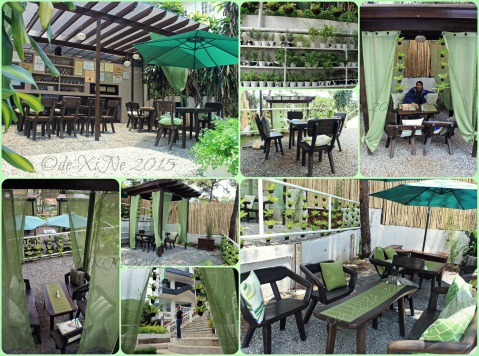 2015-05-12 Baguio Tsokolateria various dining set ups