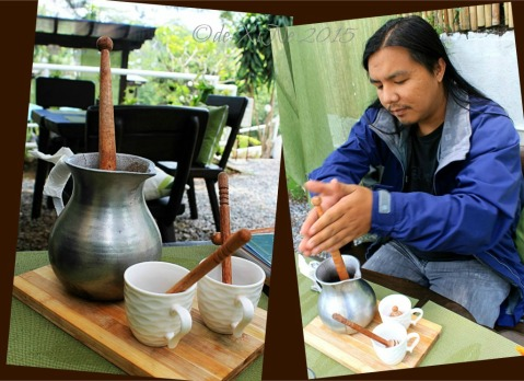 2015-05-12 Baguio Tsokolateria tablea house blend tsokolate eh in a batirol