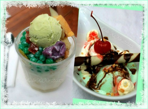 Baguio La Parilla Cafe and Grill at Inn Rocio 2015 halohalo, ice cream sundae