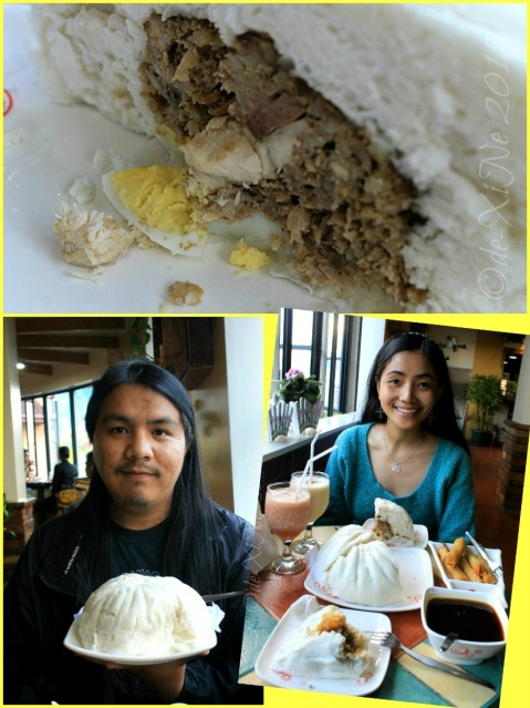 Baguio Calajo Foodhouse X+1 and giant siopao 2015