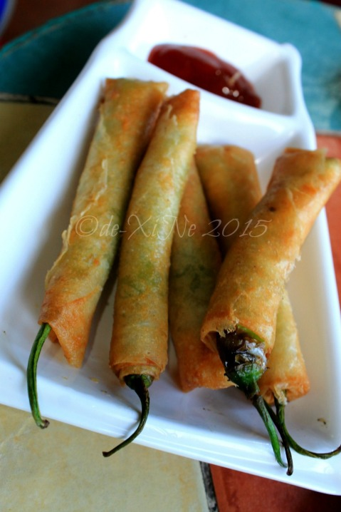 Baguio Calajo Foodhouse dynamite sticks 2015