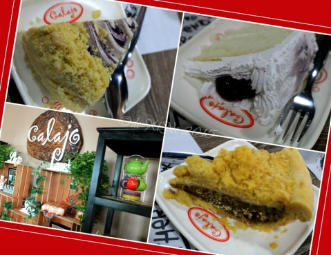Baguio Calajo Foodhouse cake and pies = blueberry swirl, blueberry chiffon, apple pie2015