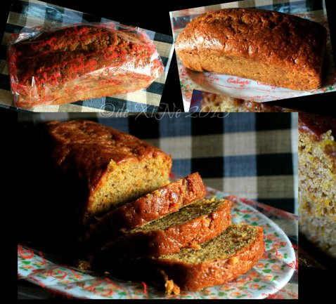 Baguio Calajo Foodhouse carrot squash bread 2015