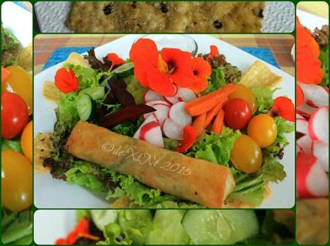 metro Baguio Master's Garden salad 2015