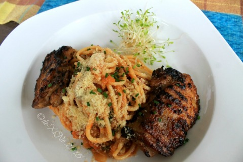 metro Baguio Masters Garden chicken and pasta 2015
