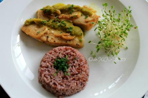 metro Baguio Masters Garden fish dish 2015