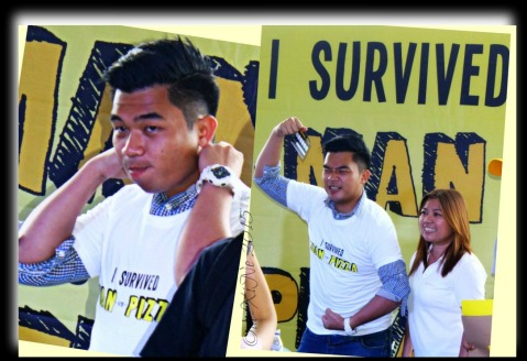 Baguio Yellow Cab Pizza Co SM Baguio Man vs Pizza pizza eating contest