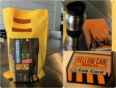 Baguio Yellow Cab Pizza Co SM Baguio branch goody bag for the bloggers