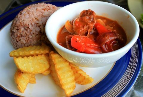 Baguio Sensational Blendz Brenan's beef stew