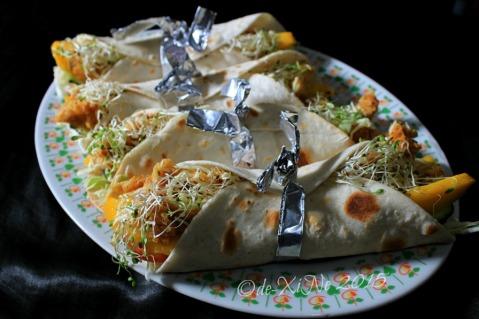 Baguio Sensational Blendz pita rolls