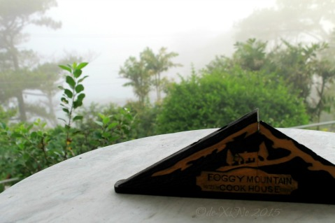 Baguio Foggy Mountain Cookhouse little sign 2015
