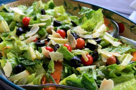 Baguio Foggy Mountain Cookhouse salad 2015