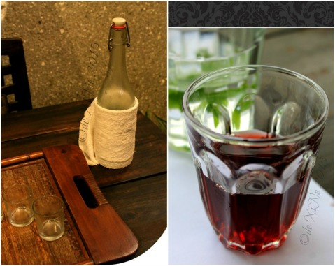 Baguio Foggy Mountain Cookhouse apple vodka and port wine
