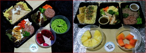 Baguio Gourmet Portions  July 6 and 7 line up of dishes