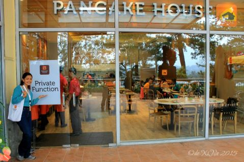 at the Baguio Pancake House SM Baguio branch facade