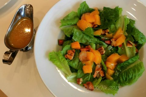 Baguio Pancake House SM Baguio branch shrimp-mango salad