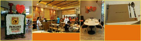 The dining area of Baguio Pancake House SM Baguio branch