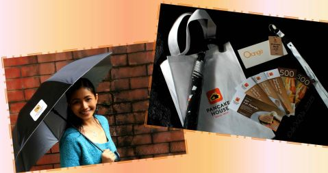 goodie bag from Baguio Pancake House SM Baguio branch preopening party