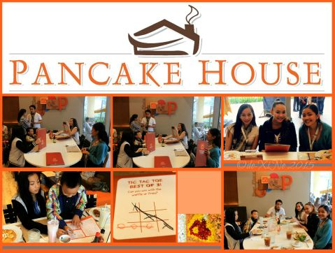 bloggers, their friends and families having fun at Baguio Pancake House SM Baguio branch