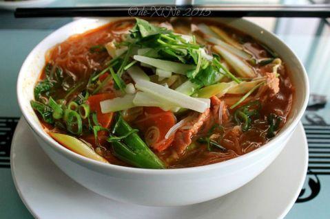 Baguio Noodle King Eatery spicy sour pork noodle