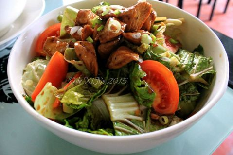 Baguio Noodle King Eatery Asian chicken salad