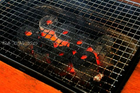 Baguio IhawJuan Grill All You Can grill with charcoal briquettes