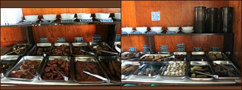 Baguio IhawJuan Grill All You Can buffet selection table