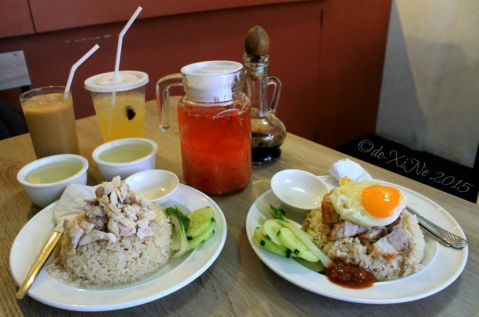 Baguio SG Sambal Filipino Hawker at Trancoville rice meals