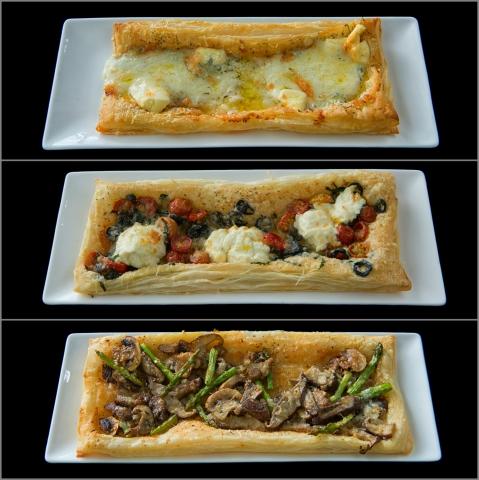 2015-09-30 Baguio Le Monet Hotel appetizer tarts
