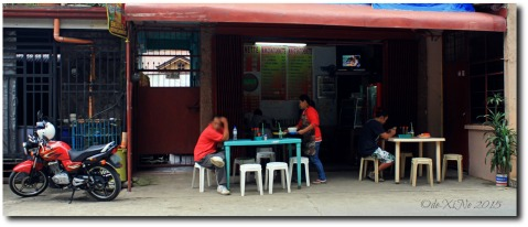 2015-10-12 Baguio Mikko's Kitchenette view from across the road