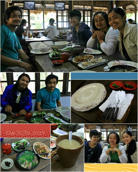 Xine and family dining at Baguio Farmer's Daughter Restaurant (4)
