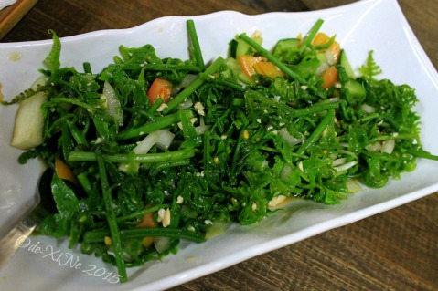 Baguio Farmer's Daughter Restaurant pak-pako salad fern salad