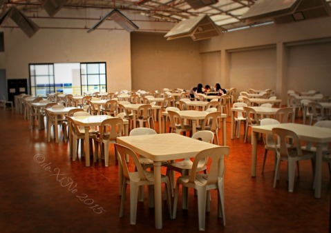 2015-09-18 Baguio University Belt fifth floor dining area