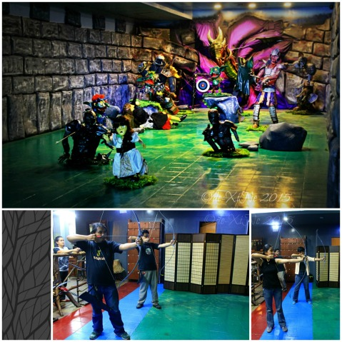 2015-11-10 Baguio Pandora's Box Tavern Cafe archery games