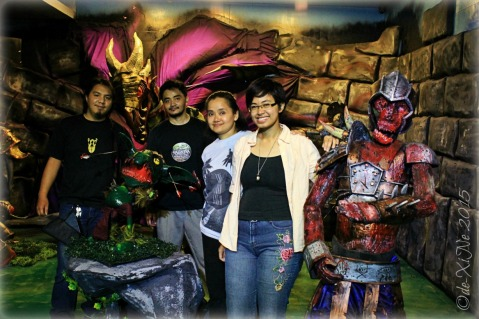 2015-11-10 Baguio Pandora's Box Tavern Cafe with the monsters at the archery range