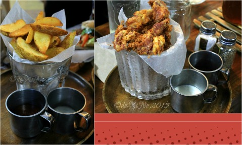 2015-11-10 Baguio Pandora's Box Tavern Cafe (5) pica pica fries and chicken fried bacon finger foods