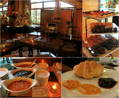 Baguio Le Twist Cafe at Forest Lodge bread station 2015