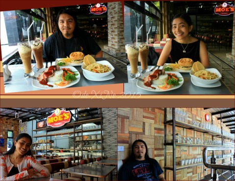 X+1 at Baguio Moe's Outrageous Resto Deli 2015