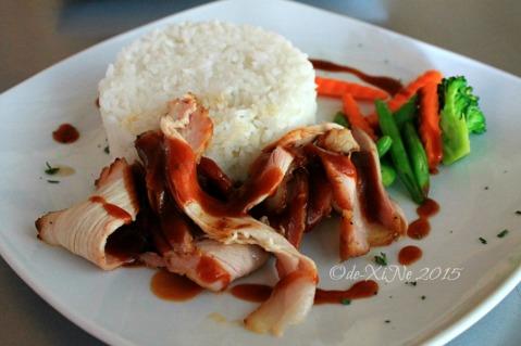 Baguio Moe's Outrageous Resto Deli smoked pork main course 2015