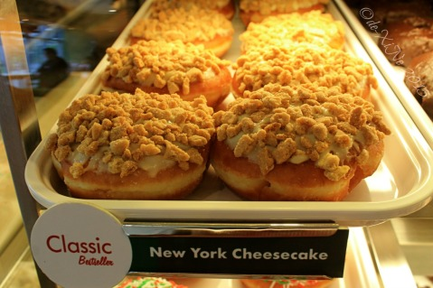 Baguio Krispy Kreme new york cheesecake doughnut favorite