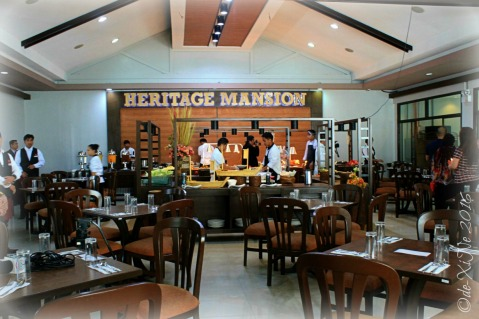 2016-01-28 Baguio Heritage Buffet Restaurant at Heritage Mansion dining area