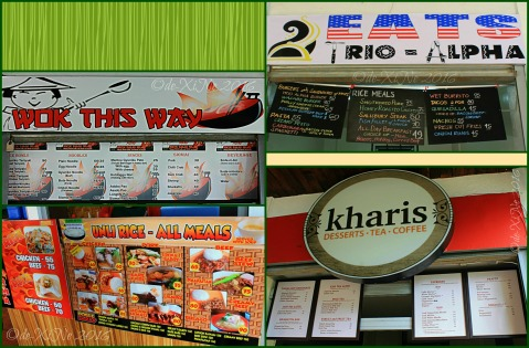 2016-02-12 Baguio Eats Trio Alpha Wok This Way Kusina ni Tito Onong Kharis Cafe and Bakeshop menus at Manna Garden Cafe