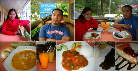 X+1 having dinner at Baguio Voyager Restaurant at El Cielito Inn (1)