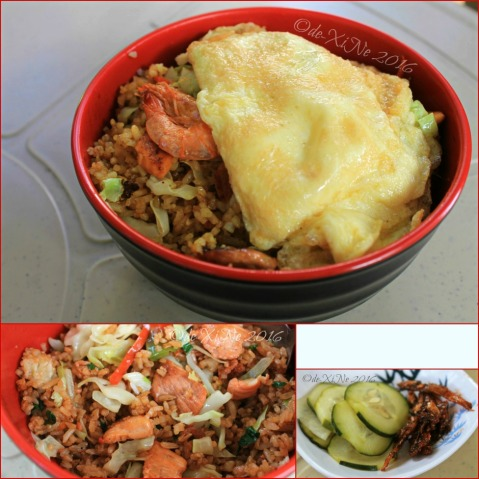 2016-02-12 Baguio Manna Garden Cafe Wok This Way goreng and side dishes