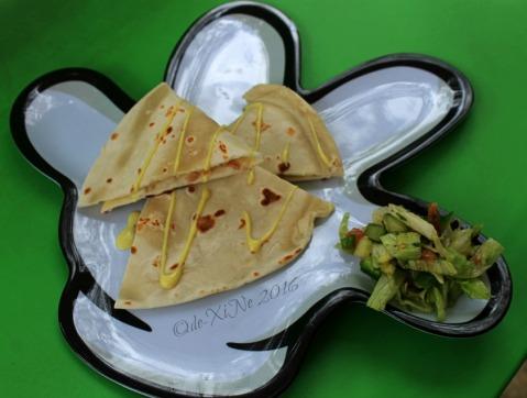 2016-02-12 Baguio Manna Garden Cafe Eats Trio Alpha quesadilla