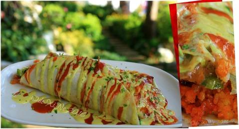 2016-03-09 Baguio Manna Garden Cafe Eats Trio Alpha wet burrito