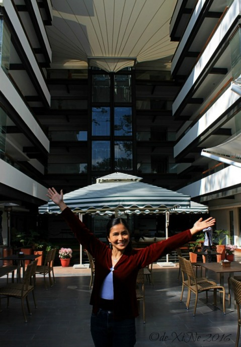 in the midst of Baguio Grand Sierra Pines Hotel al fresco restaurant