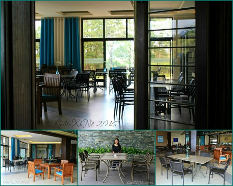 Baguio Manduto Restaurant at Pinewoods Golf and Country Club dining area